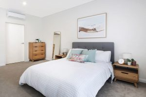 Donington Gardens Apartment Bedroom