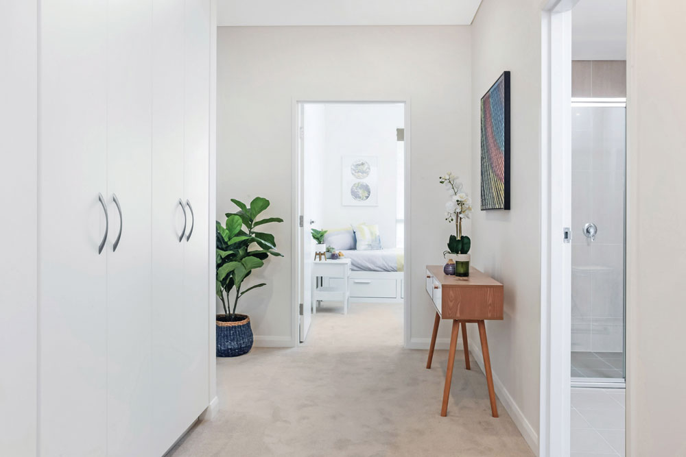 Donington Gardens Apartment Hallway