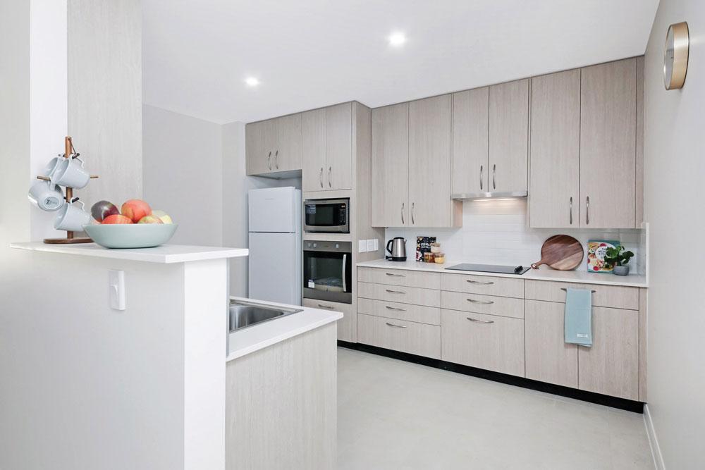 Donington Gardens Apartment Kitchen