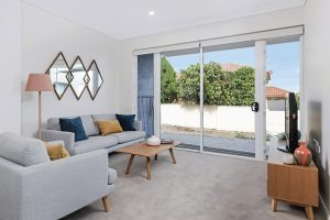 Donington Gardens Apartment Living Room
